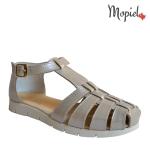 sandale dama din piele naturalacu catarama, Mopiel.ro