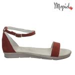 sandale Sandale dama din piele naturala Geo/25012/negru 25910 rosu 1 150x150