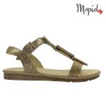 Sandale dama din piele naturala Aura/25917/auriu 25917 auriu 1 150x150
