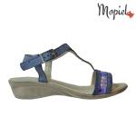 Sandale din piele naturala  Deea/25514/gri/albastru 7 150x150