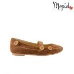 [object object] Sandale dama din piele naturala 063/grena Balerini din piele Mopiel 3 150x150