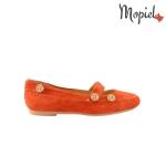 Sandale dama din piele naturala Geo/25024/verde Balerini din piele naturala spalt rosu Mopiel 2 150x150