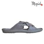 Papuci din piele naturala Sebi/16600/maro DSC 6581 150x150