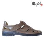 sandale Sandale barbatesti din piele naturala Dan/13600/gri DSC 6590 150x150