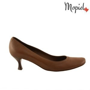pantofi - Pantofi dama din piele naturala Mopiel - Pantofi dama din piele naturala 240/maro