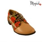 Pantofi din piele naturala Mopiel lac