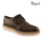Pantofi din piele naturala mopiel