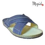 Papuci barbatesti din piele naturala, interior din piele naturala, Mopiel (2)