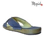 Papuci barbatesti din piele naturala, interior din piele naturala, Mopiel (3)