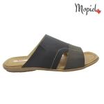sandale Sandale barbatesti din piele naturala Dan/13600/gri Papuci barbati din piele naturala 16604 gri Mopiel 1 150x150