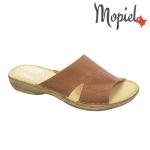 Papuci cu perforatii din piele Mopiel.ro