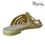 Papuci dama din piele naturala , Mopiel.ro