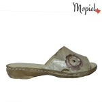 [object object] Sandale dama din piele naturala 063/grena Papuci dama din piele naturala interiorul este captusit cu piele naturala produs fabricat in Romania Mopiel