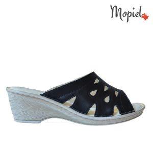 Papuci dama din piele naturala u toc, interiorul este cpatusit cu piele naturala, Mopiel.ro