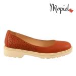 Pantofi dama 23520/lac sint maro balerini dama din piele naturala interior din piele naturala Mopiel