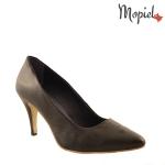 pantofi dama din piele naturala cu toc, Mopiel.ro