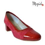 Pantofi dama din piele naturala 24403/rosu incaltaminte-mopiel.ro pantofi dama