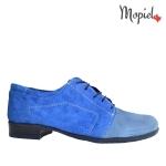 Pantofi dama din piele naturala 23420/albastru pantofi dama din piele naturala interior din piele naturala Mopiel