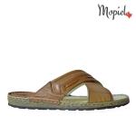 Pantofi din piele naturala Dan/maro papuci barbatesti din piele naturala interior din piele naturala Mopiel 1 150x150