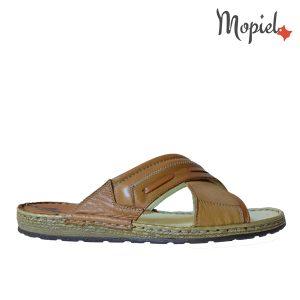 papuci barbatesti din piele naturala, interior din piele naturala , Mopiel (1)