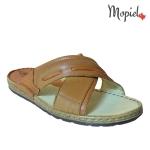 papuci barbatesti din piele naturala, interior din piele naturala , Mopiel (2)