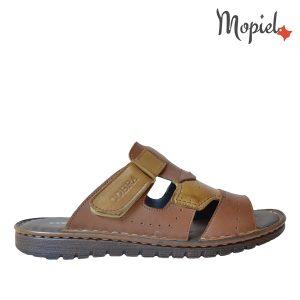 papuci barbatesti din piele naturala, interior din piele naturala, Mopiel.ro