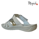 papuci dama din piele naturala, Mopiel.ro