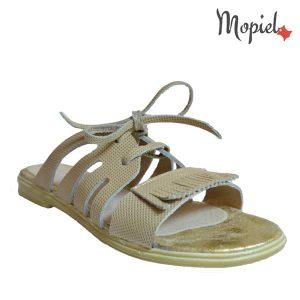 acasa Acasa papuci dama din piele naturala Mopiel