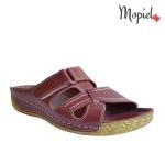 papuci dama din piele naturala cu scai, Mopiel.ro