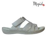 papuci Papuci dama din piele naturala Nella/visin papuci dama din piele naturala cu scai interior din piele naturala Mopiel
