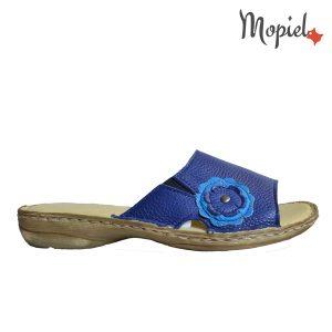papuci dama din piele naturala , interior din piele naturala, Mopiel.ro