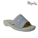 papuci dama din piele naturala, interiorul este captusit cu piele naturala, Mopiel.ro