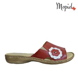 papuci dama din piele naturala, interiorul este captusit cu piele naturala, produs fabricat in Romania, Mopiel.ro