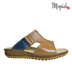 papuci dama din piele naturala , interiorul este captusit cu piele naturala, produs fabricat in Romania, Mopiel.ro