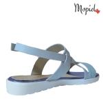 sandale dama din piele naturala cu catarama, Mopiel (3)