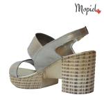 sandale dama din piele naturala cu catarama, Mopiel.ro3