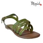 sandale dama din piele naturala cu catarama, Mopiel.ro