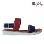 sandale Sandale dama din piele naturala Moly/3/rosu/albastru sandale dama din piele naturala cu catarama interior din piele naturala Mopiel 1 150x150