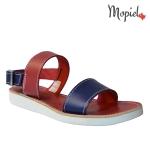 sandale dama din piele naturala cu catarama, interior din piele naturala, Mopiel (2)