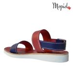 sandale dama din piele naturala cu catarama, interior din piele naturala, Mopiel (3)