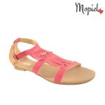 sandale dama din piele naturala cu frnajuri, Mopiel.ro