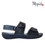 papuci Papuci dama din piele naturala Lia/bej sandale dama din piele naturala cu scai interior din piele naturala Mopiel