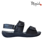 sandale Sandale dama din piele naturala Tommy/visiniu sandale dama din piele naturala cu scai interior din piele naturala Mopiel