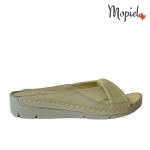 papuci Papuci dama din piele naturala 206/bej DSC 6937 150x150