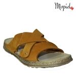 papuci barbatesti din piele naturala, Mopiel (2)