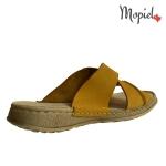 papuci barbatesti din piele naturala, Mopiel (3)