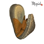 papuci barbatesti din piele naturala, Mopiel (4)