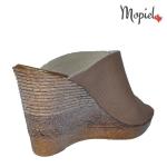 papuci dama din piele naturala, Mopiel (1)