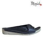 papuci Papuci dama din piele naturala 206/negru papuci dama din piele naturala Mopiel 1 150x150