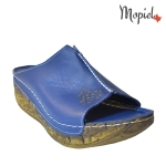 papuci dama din piele naturala cu talpa inalta, Mopiel (2)